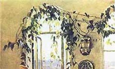 Сочинение по картине Яблонской «Утро»