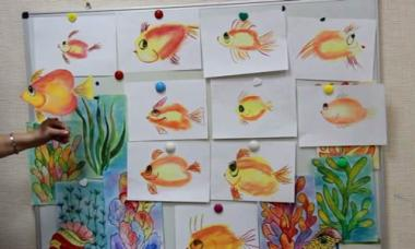 Сказка о маленькой рыбке: Сказка
