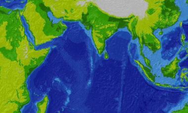 Где находится Индийский океан