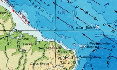 Физико-географическое положение материка