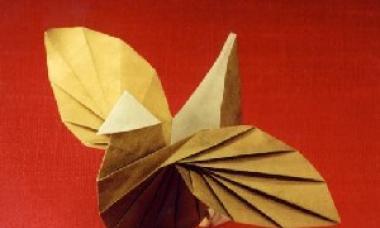 Техника оригами из бумаги схемы для детей