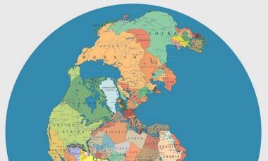 Единый континент пангея. Земная суша. Формирование материков